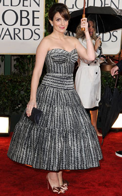 Golden Globe Awards 2010   TINA FEY What do you think of this look? ( polls )