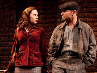 A VIEW FROM THE BRIDGE Scarlett Johansson and Liev Schreiber in a solid new revival of Arthur Miller's play