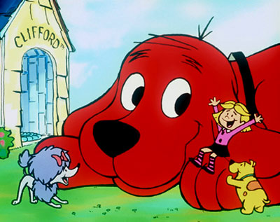 CLIFFORD (illustrated; Big Red Dog) Clifford the Big Red Dog children's book series The only thing better than a dog for kids? A 25-foot-tall dog,…