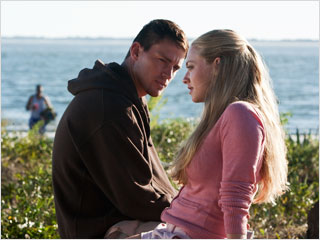 Channing Tatum | SUNNY DISPOSITION Channing Tatum and Amanda Seyfried get intimate in Dear John