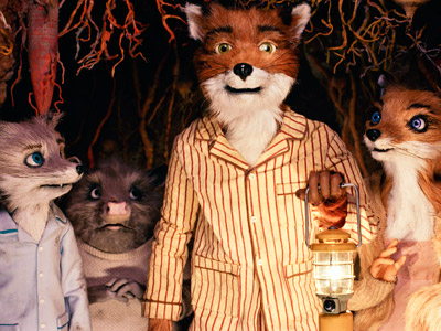 Fantastic Mr. Fox | Inspired by a jaunty picture book of the same name by Roald Dahl, exuberant miniaturist Wes Anderson brings a family of little handmade animal figurines…