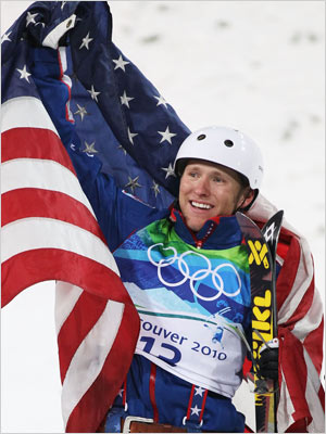 Winter Olympics 2010 | DAY 14 WINNER: Jeret ''Speedy'' Peterson SPORT: Aerial Skiing WHY HIM: NBC announcers said last night that Jeret ''Speey'' Peterson and ''the middle ground'' don't…
