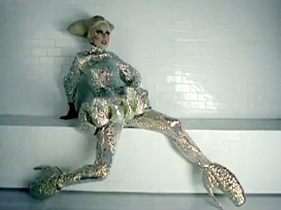 Lady Gaga   Lady Gaga's ''Bad Romance'' video, Nov. 2009 Gaga was one of the first to wear McQueen's architecturally masterful heels in her video for ''Bad Romance,''…