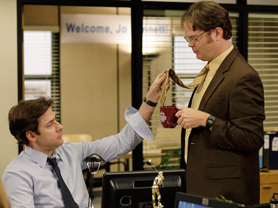The Office, John Krasinski, ... | The Office recap: For the dogs Jim decided to give Michael back sole management responsibilities because, as Oscar later pointed out to Michael, Sabre doesn?t…