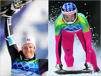 DAY 8 WINNERS: Aksel Lund Svindal and Noelle Pikus-Pace SPORT: Skiing, Skeleton WHY THEM: Svindal is an Olympic Stud in every interpretation of the word.…