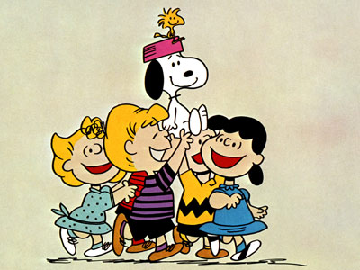 Peanuts | SNOOPY (animated; beagle) Peanuts comics and cartoons He's the Flying Ace. Joe Cool. But we like Snoopy best when he's perched atop his doghouse, looking…
