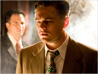 Leonardo DiCaprio, Shutter Island | BUT WHAT'S IT ALL MEAN? Leonardo DiCaprio and Mark Ruffalo play U.S. marshals investigating a creepy insane asylum in Shutter Island