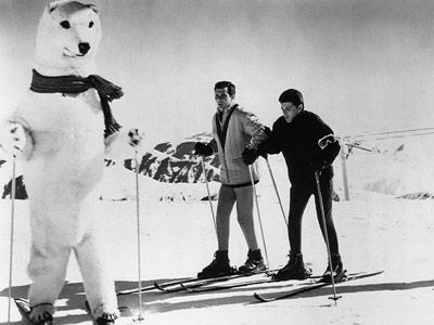 Frankie Avalon | Ski Party (1965) Part of Frankie Avalon's Beach Party series, this film has the goodtime gang trading in bikinis for snowsuits. Not surprisingly, the result…