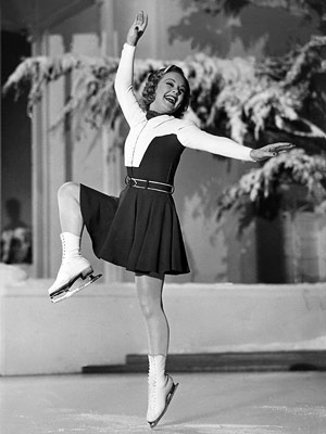 Sonja Henie | Sun Valley Serenade (1941) This musical romantic comedy is as fluffy as freshly fallen show. Sonja Henie — the world's first skating superstar — finds…