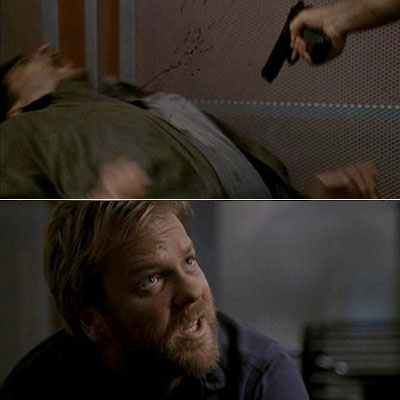 24, Kiefer Sutherland | GET ME A HACKSAW! Day 2 — 8:00am-9:00am Looking back at him in Day 1, Jack Bauer seems like such a normal, well-adjusted father and…