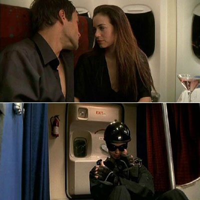 24 | AIRPLANE BOMBING Day 1 — 12:00am-1:00am To say that 24 began with a bang is an understatement. 24 's pilot episode ends with saucy bisexual…