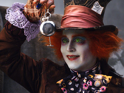 ALICE IN WONDERLAND Johnny Depp as the Mad Hatter