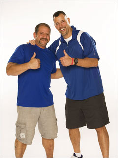 The Amazing Race | Louie and Michael dedicated their win to all the men in blue