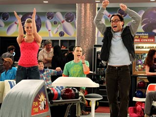 The Big Bang Theory, The Big Bang Theory | A THEORY ABOUT BIG BANG Our critic says Penny (Kaley Cuoco), Leonard (Johnny Galecki) and Sheldon (Jim Parsons) are the stand-out characters on the show.
