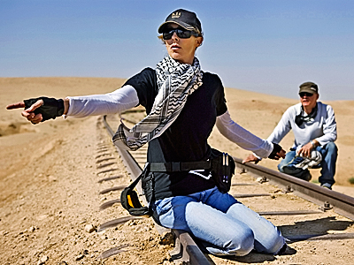 Kathryn Bigelow, The Hurt Locker | Kathryn Bigelow The Hurt Locker She'd be the fourth woman ever nominated in this race.