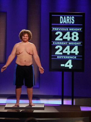 The Biggest Loser, The Biggest Loser   The Biggest Loser recap: Home, Sweets, Home Everyone else wanted to compete fairly. Daris even slammed his box of cupcakes on the floor and stomped…