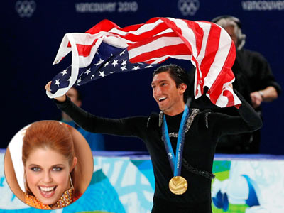 Dancing With the Stars   EVAN LYSACEK, figure skater Pro partner: Anna Trebunskaya Conrad Green says: ''We met Evan, and we just really liked his personality. We thought he'd be…