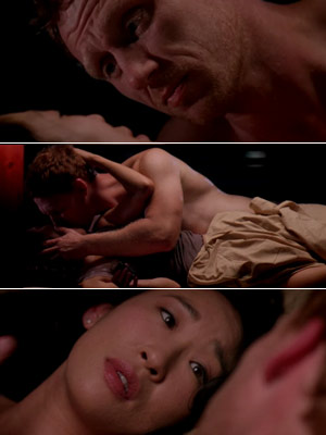 Grey's Anatomy, Kevin McKidd | CRISTINA and OWEN on Grey's Anatomy ''Thank you!! It looks so violent. I think it?s supposed to be passion, but it looks painful.'' — Sue…