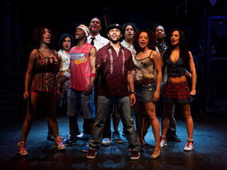 Corbin Bleu and the cast of In the Heights