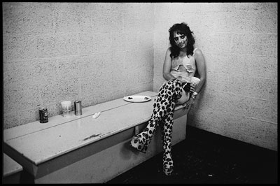 Alice Cooper | ALICE COOPER (1972) ''The boots make it,'' Marshall claimed about this photograph of the horror-rocker. He wasn't wrong. Image from the book Match Prints by…