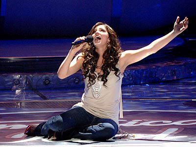American Idol   ''Over the Rainbow'' In the wake of well-liked covers by Kimberley Locke (season 2), Katharine McPhee (pictured, season 5 — on two separate occasions), and…
