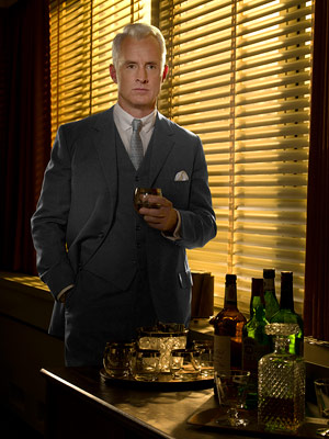 Mad Men, John Slattery | The nominees for Best Supporting Actor in a Drama Series will be... John Slattery, Mad Men Aaron Paul, Breaking Bad Martin Short, Damages Terry O'Quinn,…