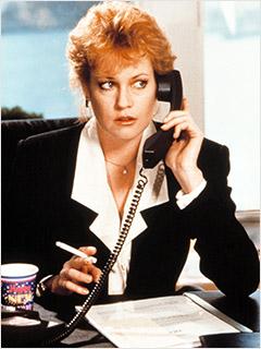 Working Girl, Joan Cusack, ...