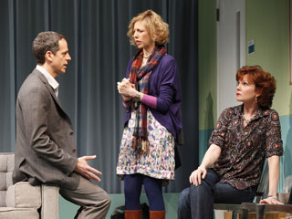Patrick Breen (Adam), Maddie Corman (Holly), and Connie Ray (Arlene) in Next Fall