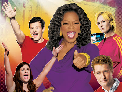 Glee, The Oprah Winfrey Show | GLEE on Oprah Attention, Gleeks! Fox's hit musical series returns April 13, but on April 7 part of the cast (including Jane Lynch!) will storm…