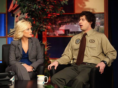 Parks and Recreation, Amy Poehler, ... | Parks and Recreation recap: Let's hear it for the schlemiel and schlemazel Back in the park, we meet possibly one of the most annoying characters…