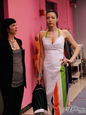 Project Runway   Project Runway recap: The (custom-made) fabric of their lives Mila and her Tee-Pee Hideaway for Mexican Serapes, Pride Flags, and Your Mom on the Patio…