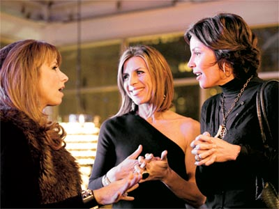 The Real Housewives of New York City | THE REAL HOUSEWIVES OF NEW YORK CITY on Bravo The third season of the Big Apple divas has turned into a juicy hailstorm as LuAnn…