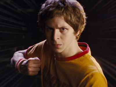 Michael Cera | SCOTT THE PILGRIM VS THE WORLD trailer Wham! Pow! Geek chic reaches its apotheosis in the new clip for the romantic gamer genre bender (out…