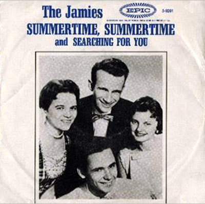 The Jamies | The Jamies Harvey Keitel spent most of the 1978 film Fingers being obsessed with the Jamies' hyperchirpy seasonal glee. His fixation on their falsettos was…