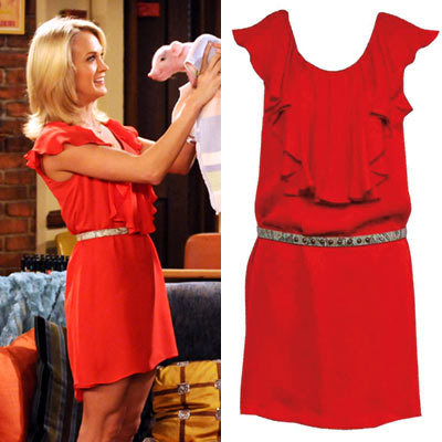 Carrie Underwood, How I Met Your Mother | CARRIE UNDERWOOD'S DRESS ON HOW I MET YOUR MOTHER As a ''hot pharma girl,'' Underwood temporarily caught Ted's (Josh Radnor) eye in a belted ''Rocker''…