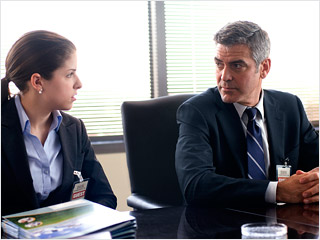 Up in the Air, George Clooney | Up in the Air George Clooney teaches Anna Kendrick the fine art of downsizing