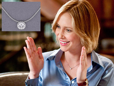 Vera Farmiga | VERA FARMIGA'S NECKLACE IN UP IN THE AIR Since a frequent flyer like Alex has to pack light, it makes sense that she wore this…