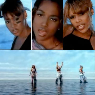 TLC Sad stories from the ghetto, a buoyant hook, and a water image — '90s summer hits don't get any more timely or irresistible.