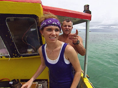 The Amazing Race | The Amazing Race recap: A lovely bunch of coconuts Steve made an aggressive move when he chose the shelled centenarian. ''I never met an ox…
