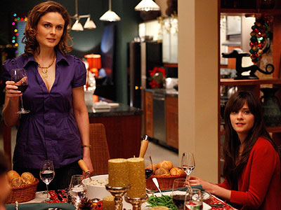 Bones, Emily Deschanel, ...   ''Three Deschanels have worked on the show, Emily, Zooey, and Caleb. Two Boreanazes have, David and his father (cameo appearance). Two Hansons have, Hart and…