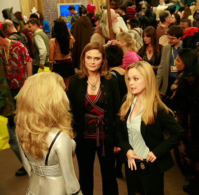 Bones, Emily Deschanel   ''The 'Magicon' convention in season 4's 'The Princess and the Pear' was a closed furniture store in Santa Clarita. We had very little scenery to…