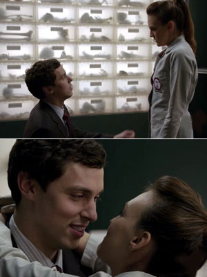 John Francis Daley | Bones recap: Reading between the lines Cut to Sweets finally coming to her in the Bone room. Seeing her standing on the ladder was the…
