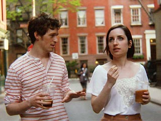 Breaking Upwards | NEW APPROACH Daryl Wein and Zoe Lister Jones' characters put a new spin on the term ''break up'' in Breaking Upwards .