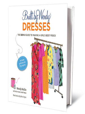 + FOR CRAFTY TYPES BUILT BY WENDY DRESSES Wendy Mullin ($27.50) DIY patterns and instructions for moms who love Mullin's ready-to-wear line.