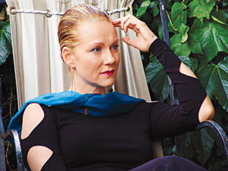 THE THINKER Laura Linney in The City of Your Final Destination