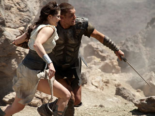 Sam Worthington, Clash of the Titans | OLD TRICKS Clash of the Titans, starring Gemma Arterton and Sam Worthington (pictured), evokes a certain pre-CGI innocence