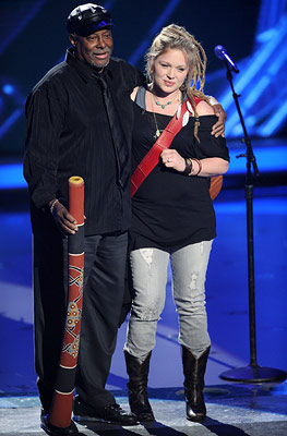 American Idol, Crystal Bowersox | American Idol recap: Crystal Bow!Er!Sox! botches a few ''Come Together'' lyrics Yes, in the Idol ''Come Together'' pantheon, I'd have to rank it Carly Smithson…