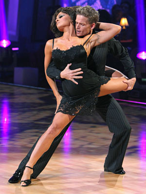 Dancing With the Stars | 5. PAMELA ANDERSON AND DAMIAN WHITEWOOD: ARGENTINE TANGO The look was more Lisa Rinna than Sophia Loren, but at least Pam's negligee was ready-to-wear...in bed.