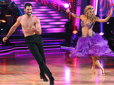 Dancing With the Stars | 2. ERIN ANDREWS AND MAKSIM CHMERKOVSKIY: SAMBA Erin was working out her aggression after being kicked out of her beginner's figure skating class due to…
