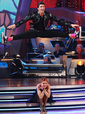 Dancing With the Stars | Dancing with the Stars recap: Trust your pro Evan really played up that Grease look, flinging his leather jacket over his shoulder Danny Zuko-style. I'm…
